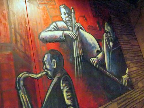 サニーサイド壁の絵